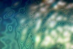 Fondo subacuático, ejemplo realista Imágenes de archivo libres de regalías