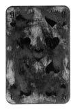 Fondo sucio antiguo del papel del naipe Fotografía de archivo libre de regalías