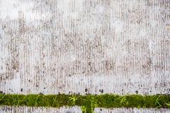 Fondo sucio con el detalle verde Imagen de archivo