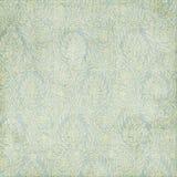 Fondo sucio de la textura de Paisley del verde azul Fotografía de archivo libre de regalías