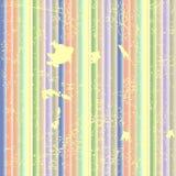 Fondo sucio de las rayas (vector) stock de ilustración