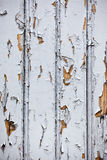Fondo superficial de los tablones de madera blancos Fotografía de archivo