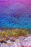 Fondo superficial del agua Fotografía de archivo