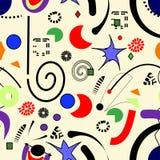 Fondo surrealista astratto, modello senza cuciture 18-15 Royalty Illustrazione gratis