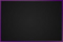 Fondo sutil con la frontera púrpura y el modelo silenciado stock de ilustración