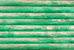 Fondo, tableros, verde, viejos, pintura que pela mitad foto de archivo libre de regalías