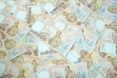 Fondo tailandese dei soldi Fotografie Stock
