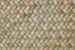 Fondo tailandese tradizionale della natura del modello di stile di handic marrone Fotografia Stock