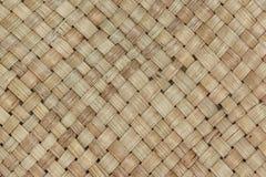 Fondo tailandese tradizionale della natura del modello di stile di handic marrone Fotografie Stock