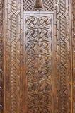 Fondo tallado de madera Imagen de archivo libre de regalías