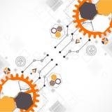 Fondo tecnológico abstracto Foto de archivo libre de regalías