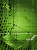 Fondo tecnológico abstracto