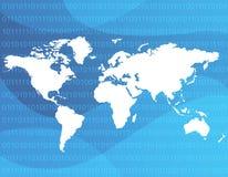 Fondo/tecnología del Web libre illustration