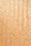 Fondo tejido mimbre de la textura Foto de archivo libre de regalías