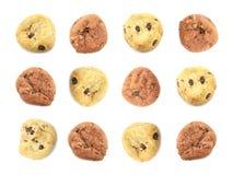 Fondo temático de la galleta de los niños de la diversión Fotografía de archivo