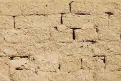 Fondo - textura de la pared de Adobe Imagen de archivo