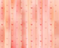 Fondo/textura de los corazones Fotografía de archivo libre de regalías
