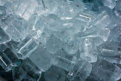 Fondo/textura del tubo del hielo Imagen de archivo libre de regalías