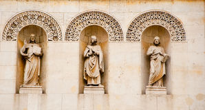 Fondo/textura - figuras religiosas Fotos de archivo