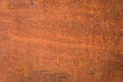 Fondo/textura oxidados del metal Foto de archivo libre de regalías