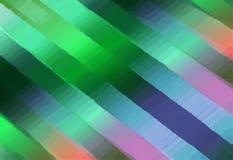 Fondo textured extracto Efecto de la pintura de aceite Imagen colorida borrosa de rayas Foto de archivo libre de regalías
