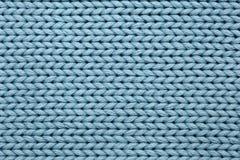 Fondo textured hecho punto azul fotografía de archivo libre de regalías