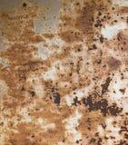 Fondo textured oxidado del metal Foto de archivo