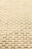 Fondo textured paja tejido amarillo abstracto Fotografía de archivo