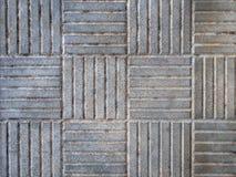 Fondo Textured Tejas concretas con el modelo geométrico correcto imágenes de archivo libres de regalías