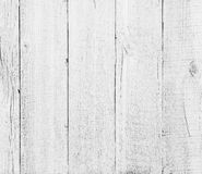Fondo texturizado blanco de madera de los tablones Fotos de archivo