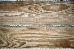 Fondo texturizado de la madera Tableros del pino para el constructio de la casa Foto de archivo libre de regalías