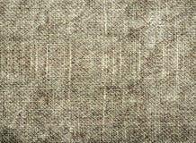 Fondo texturizado de la materia textil natural gris imagenes de archivo