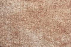 Fondo texturizado de la materia textil natural gris fotos de archivo