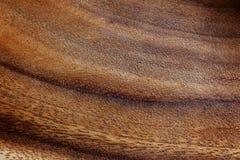 Fondo texturizado de la oscuridad y de la madera rayada ligera del acacia Imagen de archivo libre de regalías