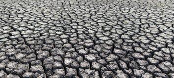 Fondo texturizado de la superficie de tierra agrietada seca Foto de archivo libre de regalías