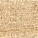 fondo texturizado de lino del modelo del paño del yute imagen de archivo