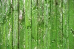 Fondo texturizado de madera de tableros verdes claros Fotos de archivo libres de regalías