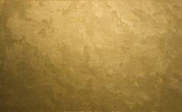 Fondo del oro Fotografía de archivo libre de regalías