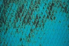 Fondo texturizado el panel oxidado del papel pintado del metal Fotografía de archivo