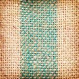 Fondo texturizado marrón de la harpillera imágenes de archivo libres de regalías