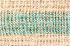 Fondo texturizado marrón de la harpillera Imagen de archivo