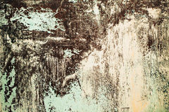 Fondo texturizado metal oxidado Imágenes de archivo libres de regalías