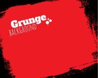 Fondo texturizado rodado del rojo del grunge Fotografía de archivo libre de regalías