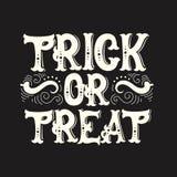 Fondo tipográfico de la cita de Halloween del vector Fotografía de archivo libre de regalías