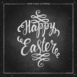 Fondo tipográfico feliz de Pascua Foto de archivo libre de regalías