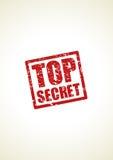 Fondo top-secret del bollo Fotografia Stock
