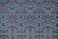 Modello tradizionale del Sarong del batik fotografia stock