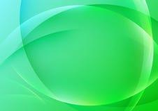 Fondo trasparente verde intenso di semitono Immagini Stock Libere da Diritti