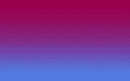 Fondo tremante di arte del pixel in tre colori illustrazione di stock