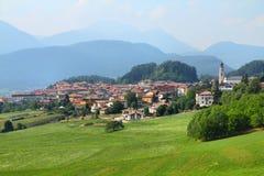 Fondo, Trentino, Italia Fotos de archivo libres de regalías